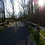 Greenway Bridge on Grants Creek Section